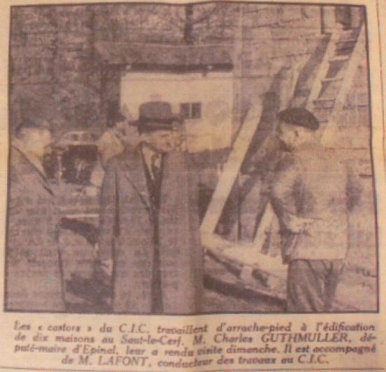 L'Est Républicain, mardi 10 novembre 1953